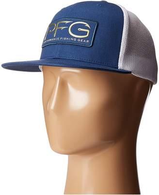 Columbia PFG Mesh Flat Brim Ballcap Baseball Caps