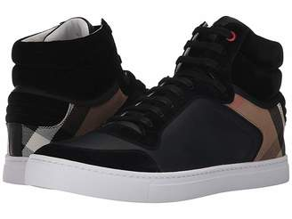 Burberry Reeth House Check High Top Sneaker