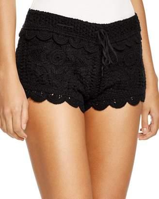 Surf Gypsy Crochet Swim Cover-Up Shorts
