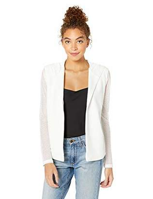 BCBGeneration Women's Hooded Blazer, L
