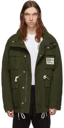 Diesel Green J-Touchin Clean Field Jacket