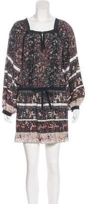 Ulla Johnson Long-Sleeve Mini Dress