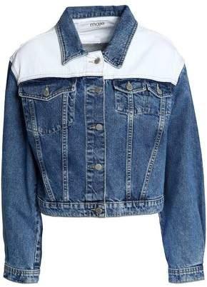 Maje Faded Denim Jacket