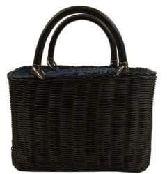 Sam Edelman Lucy Mini Straw Basket Handbag