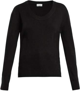 Raey Darted scoop-neck cashmere sweater