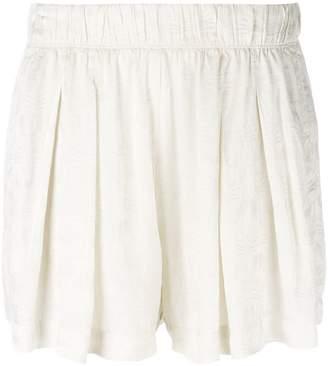 Raquel Allegra pleated shorts
