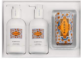 Claus Porto BANHO Liquid Soap Body Moisturizer Soap Gift Set