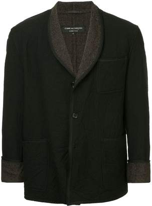 Comme des Garcons Pre-Owned rope trim no collar jacket