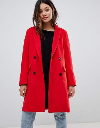 Brave Soul glenda double breasted coat