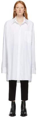 Ann Demeulemeester White Oversized Olda Shirt