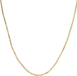JCPenney FINE JEWELRY Made in Italy 14K Yellow Gold 22 Hollow Box Chain