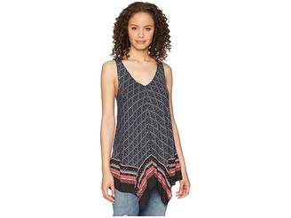 Tribal Handkerchief Printed Camisole Women's Sleeveless
