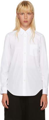Junya Watanabe White Broadcloth Shirt