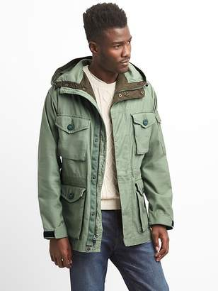 Gap Hooded Military Jacket
