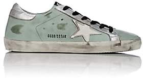 Golden Goose Women's Superstar Leather Sneakers - Lt. Green