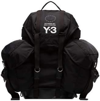 Y-3 black backpack