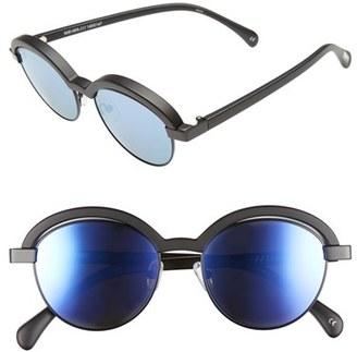 Women's Le Specs 'Slid Lids' 51Mm Sunglasses - Crystal Grape/ Black $79 thestylecure.com
