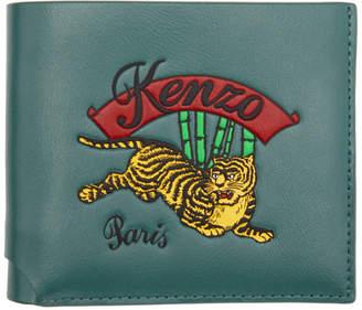 Kenzo (ケンゾー) - Kenzo ブルー ジャンピング タイガー ウォレット
