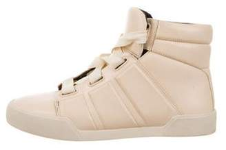 3.1 Phillip Lim Embossed Leather Sneakers