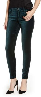 7 For All Mankind Velvet Ankle Skinny Jeans
