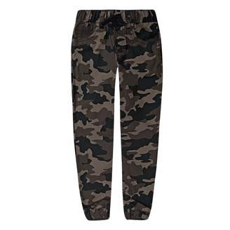 Levi's Levis Boys 4-7x Twill Camouflaged Jogger Pants