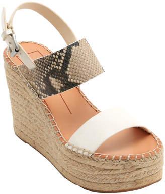Dolce Vita Spiro Leather Wedge Sandal
