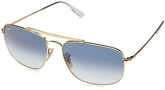 Ray-Ban RB3560 (The Colonel) Unisex - Frame-Clear Gradient Blue 61mm Lenses