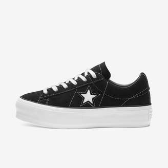 Converse One Star Platform Suede Low Top Women's Shoe