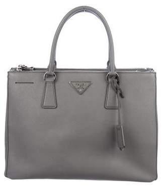 bc11e1f729309f Prada Medium Saffiano Lux Galleria Double Zip Tote