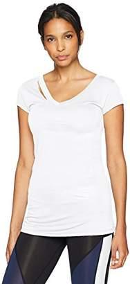 Sam Edelman Active Women's Short Sleeve Rip Tee