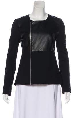 Elizabeth and James Scoop Neck Casual Jacket