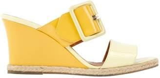 Fendi Patent leather sandal