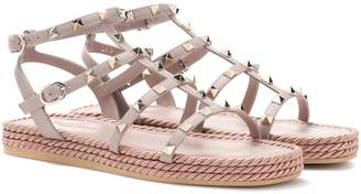 Valentino Torchon leather sandals
