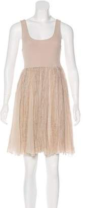 Alice + Olivia Sleeveless Knee-Length Dress