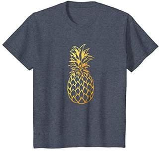 Gold Pineapple | Cute & Modern | Fine-Apple Z000010