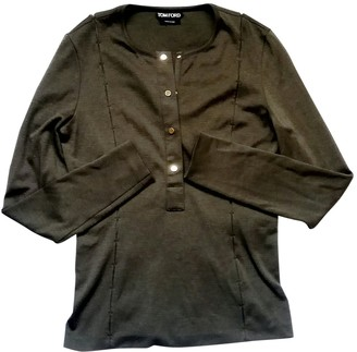 Tom Ford Green Cotton Knitwear for Women