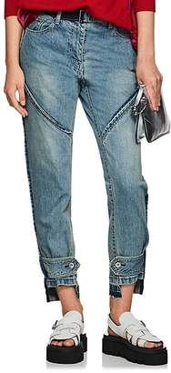 Sacai Women's Belted Relaxed Jeans