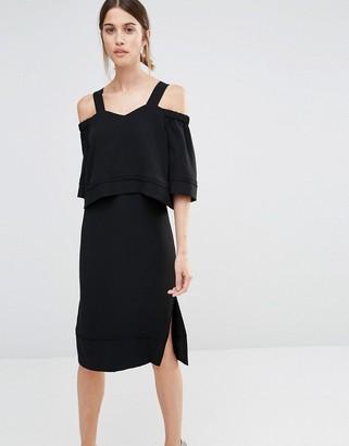 Whistles Anais Off Shoulder Dress $271 thestylecure.com