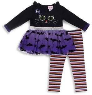 Little Lass Baby Girl's Two-Piece Halloween Set
