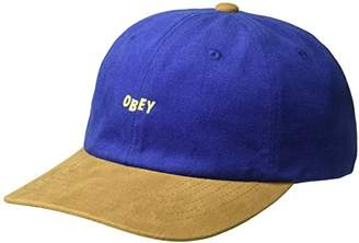 Obey Men's 90's Jumble 6 Panel Sb Hat