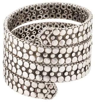 John Hardy Dot Coil Wrap Bracelet