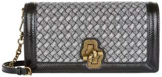 Bottega Veneta Knitted Intrecciato Knot Bag
