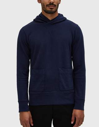 Velva Sheen Heavy oz. Pullover Hoodie in Navy