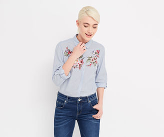 Chintz Embroidered Shirt $65 thestylecure.com