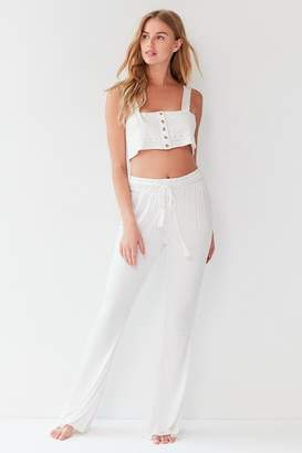 Out From Under Flora Crochet Pant