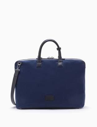 Calvin Klein engineered casual canvas weekender bag