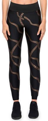 Koral Activewear Dayton Printed High-Rise Leggings