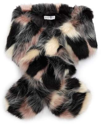 Sole Society Oversized Faux Fur Wrap