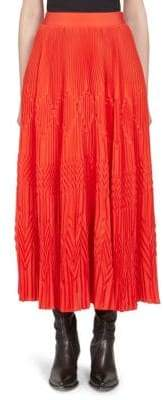 Givenchy Pleated Ankle-Length Skirt
