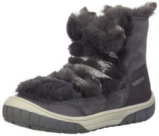 Geox Girl's Omar Waterproof Lace-Up Boots